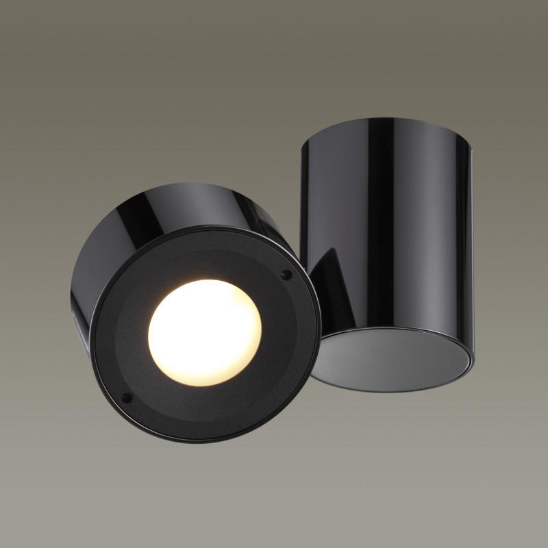 Odeon Light 3587/1C ODL18 129 черненый хром Потолочный накладной светильник IP20 GX53 5W 220V TUNASIO цена