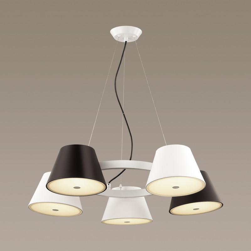 Odeon Light 3992/5 ODL18 137 бел/бел/черный Люстра IP20 G9 10*40W 220V CHARLIE bel air зонт спб