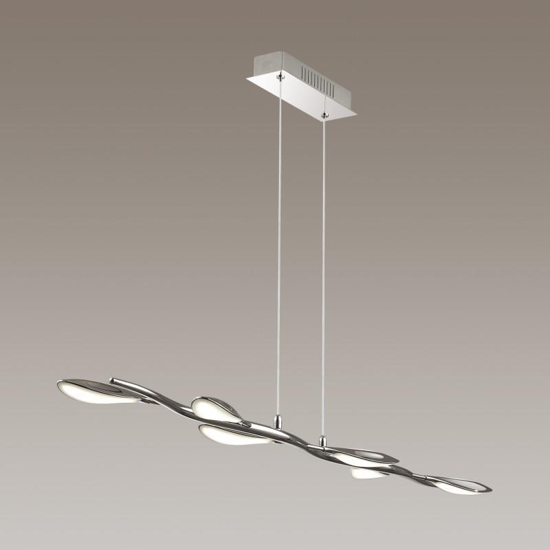 Odeon Light 3994/32L ODL18 024 хром/белый Подвес IP20 LED 32W 3.0V SCOPPA fortis 902 20 32 l