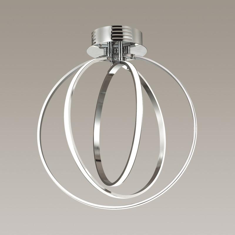 Фото Odeon Light 4024/66CL ODL18 046 хром/белый Люстра потолочная IP20 LED 66W 12V ALFI. Купить с доставкой