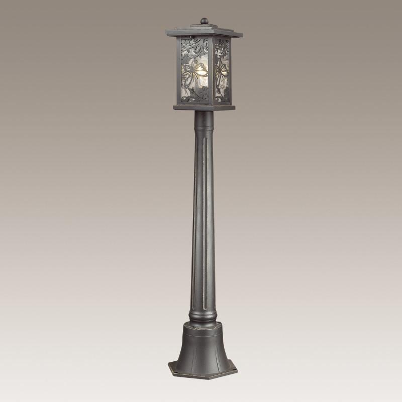 Odeon Light 4038/1F ODL18 721 черный/золотая патина Уличный светильник, 106см IP44 E27 60W 220V PAPION