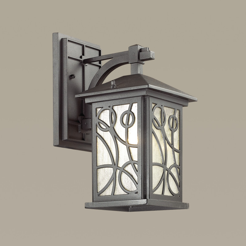 Odeon Light 4040/1W ODL18 726 черный Уличный настенный светильник IP44 E27 60W 220V HOUSE