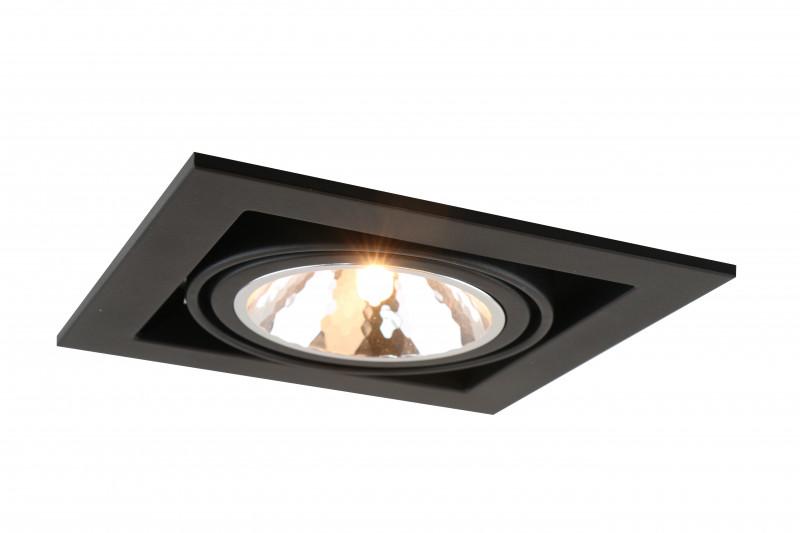 ARTE Lamp A5949PL-1BK встраиваемый светильник arte lamp cardani semplice a5949pl 1wh