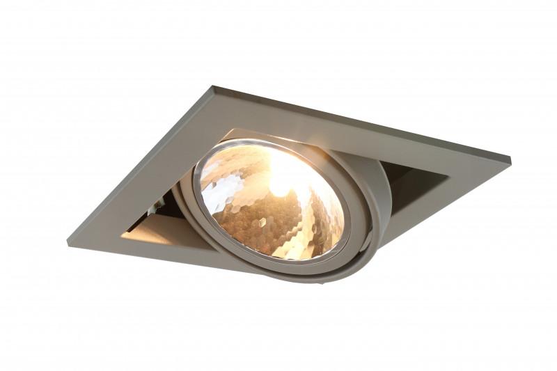 ARTE Lamp A5949PL-1GY встраиваемый светильник arte lamp cardani semplice a5949pl 1wh