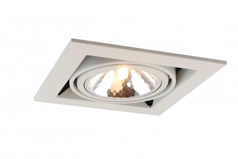 ARTE Lamp A5949PL-1WH встраиваемый светильник arte lamp cardani semplice a5949pl 1wh