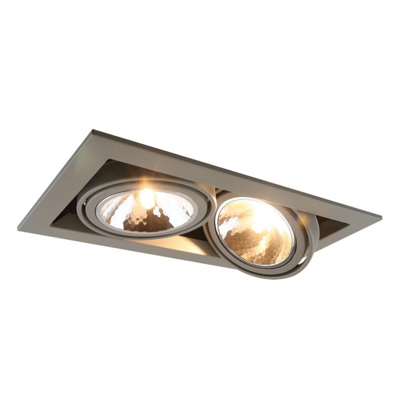 ARTE Lamp A5949PL-2GY встраиваемый светильник arte lamp cardani semplice a5949pl 1wh
