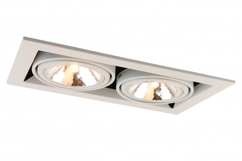 ARTE Lamp A5949PL-2WH встраиваемый светильник arte lamp cardani semplice a5949pl 1wh