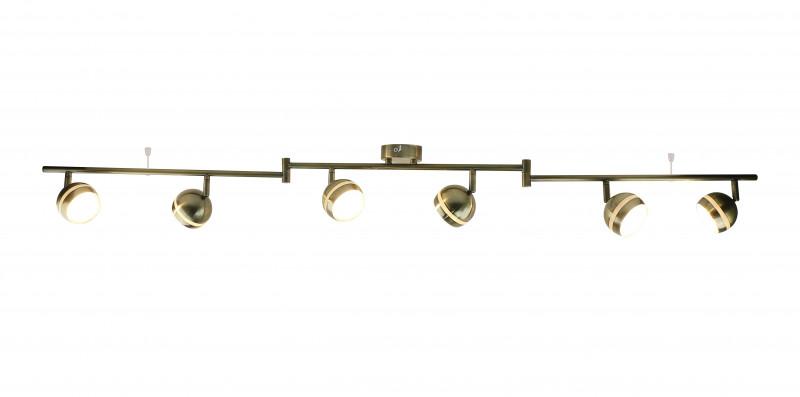 ARTE Lamp A6009PL-6AB спот точечный светильник arte lamp venerd a6009pl 6ab