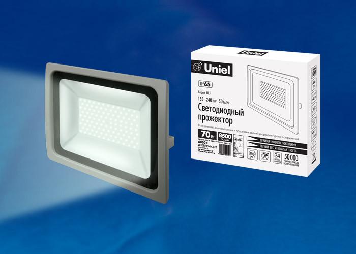 Uniel ULF-F16-70W/DW IP65 185-240В SILVER б у шины 235 70 16 или 245 70 16 только в г воронеже