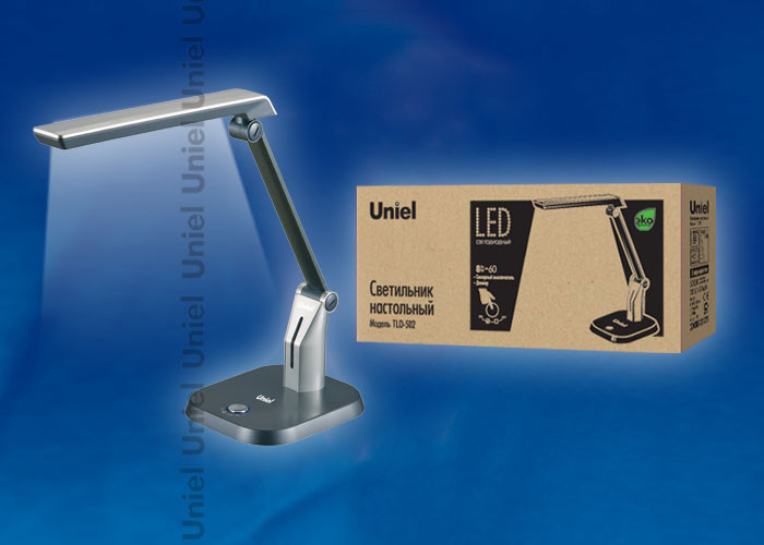 Uniel TLD-502 Silver/LED/546Lm/5000K/Dimer веб камера logitech hd webcam c310