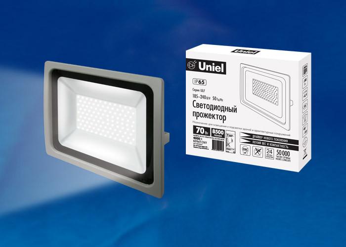 Uniel ULF-F16-70W/NW IP65 185-240В SILVER б у шины 235 70 16 или 245 70 16 только в г воронеже