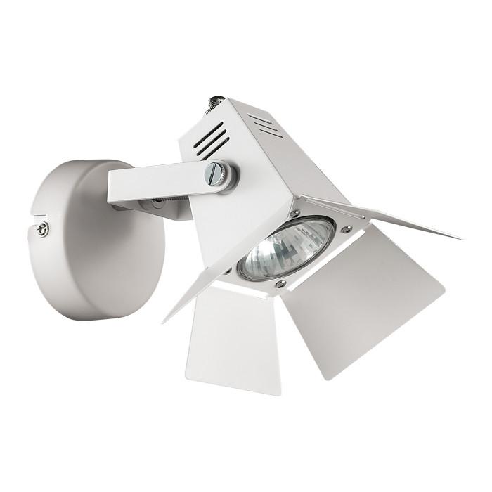 Odeon Light 3631/1W ODL18 000 белый Бра IP20 GU10 50W 220V TECHNO PRO pro svet light mini par led 312 ir