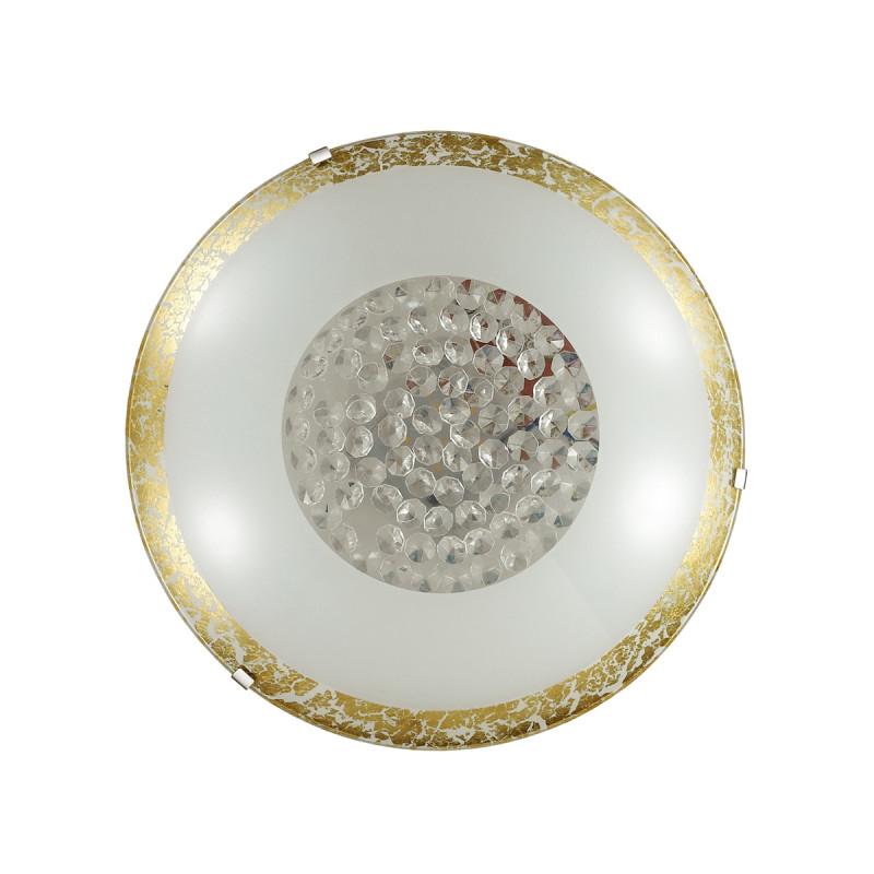 Sonex 2072/DL SN18 000 золото/белый//желтыйхрусталь/пульт ДУ Н/п светильник LED 48W 220V ELEKA топор зубр иж 2072 12 60