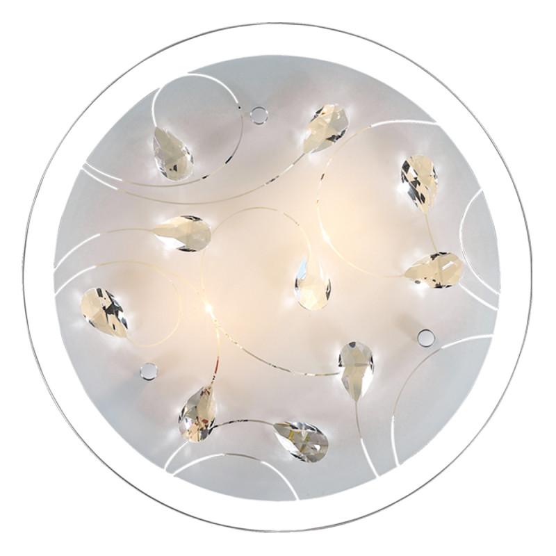 Sonex 2233/BL FBR18 000 белый/хрусталь Н/п светильник LED 24W 220V VESA oem new 110v 220v fuser assembly for h p 9000 9040 9050 rg5 5750 000 rg5 5751 000 c8519 69014l