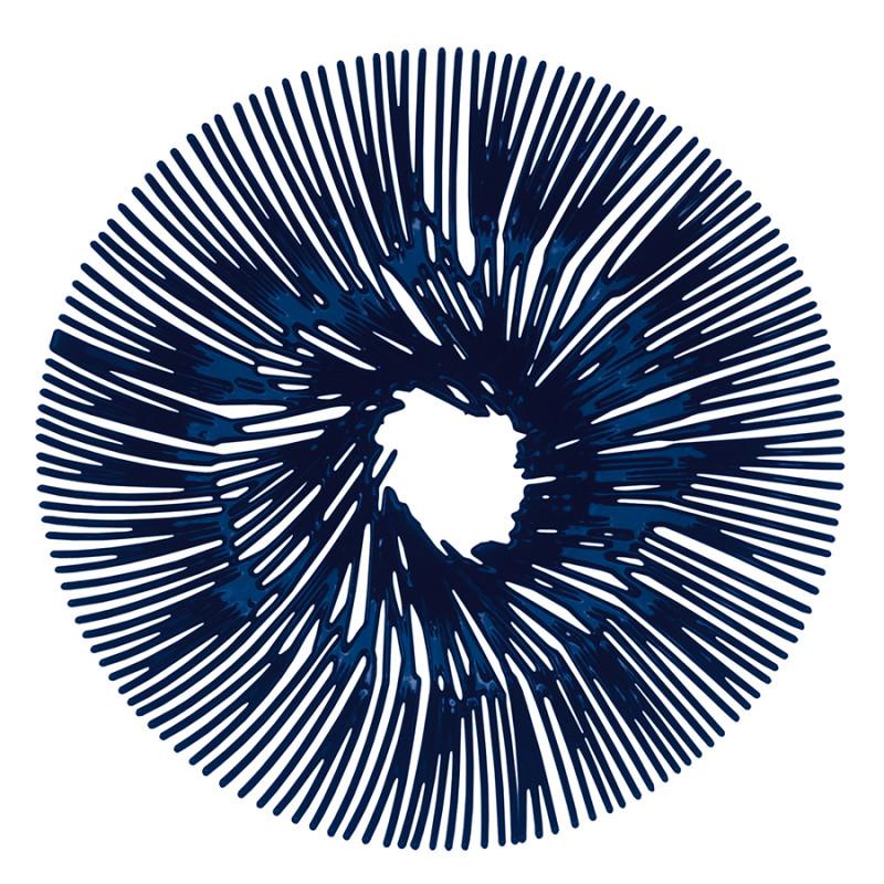 Koziol Блюдо для фруктов anemone, синее koziol 2980583 pi p
