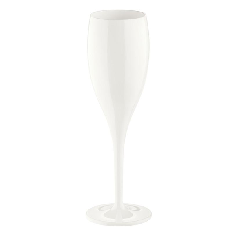 Koziol Бокал для шампанского cheers no. 1, 100 мл, белый three cheers for women