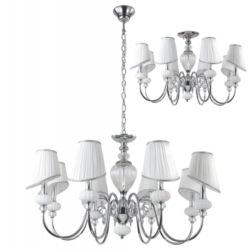 Crystal Lux ALMA WHITE SP-PL8