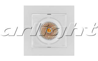 Arlight Светильник CL-KARDAN-S102x102-9W White (WH, 38 deg) массажер нозоми мн 102