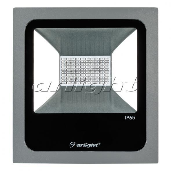Arlight Светодиодный прожектор AR-FLAT-50W-220V Red (Grey, 120 deg) arlight светодиодный прожектор ar flat architect 20w 220v day grey 50x70 deg
