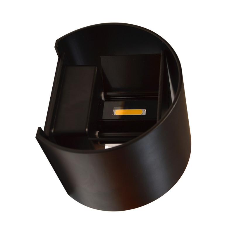Maysun Cветильник светодиодный архитектурный настенный двулучевой MS-G1-501 6W R-WW-BLACK-IP65