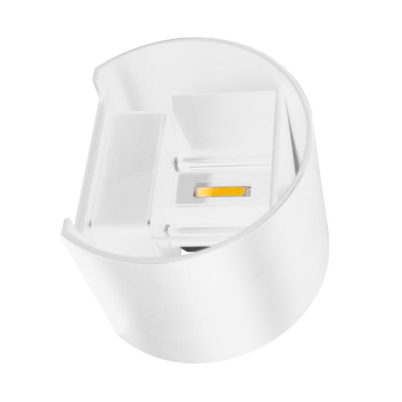 Maysun Cветильник светодиодный архитектурный настенный двулучевой MS-G1-501 6W R-WW-WHITE-IP65 рђрў12665 white maysun
