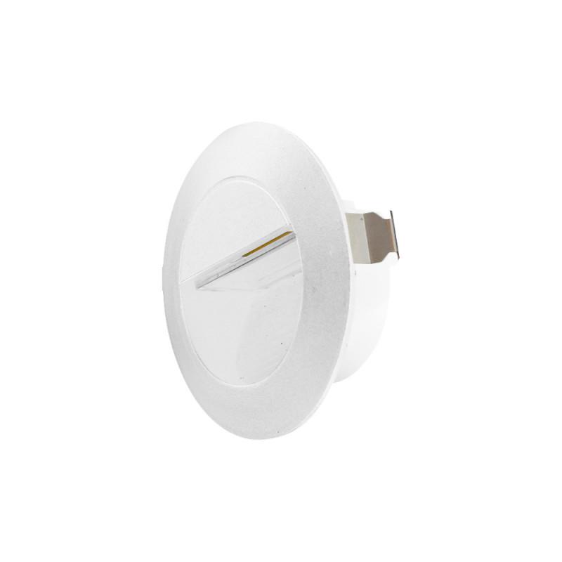 Maysun Cветильник светодиодный архитектурный встраиваемый в стену MS-GF-001 3W R-WW-WHITE-IP65 рђрў12665 white maysun
