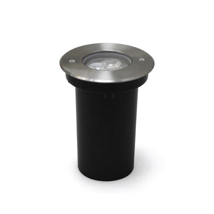 Maysun Грунтовый светодиодный светильник А2CDO316R-3x2W-CW-30-240V-IP67 симметричный