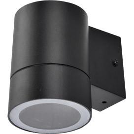 ECOLA Ecola GX53 LED 8003A светильник накладной IP65 прозрачный Цилиндр металл. 1*GX53 Черный 114x140x90 ecola ecola gx53 led 8003a светильник накладной ip65 прозрачный цилиндр металл 1 gx53 белый матовый 114x1