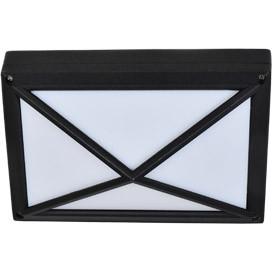 ECOLA Ecola GX53 LED B4157S светильник накладной IP65 матовый Прямоугольник/Пирамида алюмин. 2*GX53 Черный цена