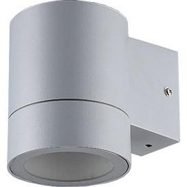ECOLA Ecola GX53 LED 8003A светильник накладной IP65 прозрачный Цилиндр металл. 1*GX53 Серый матовый 114x1 ecola ecola gx53 led 8003a светильник накладной ip65 прозрачный цилиндр металл 1 gx53 белый матовый 114x1