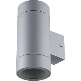 ECOLA Ecola GX53 LED 8013A светильник накладной IP65 прозрачный Цилиндр металл. 2*GX53 Серый матовый 205x1 ecola ecola gx53 led 8003a светильник накладной ip65 прозрачный цилиндр металл 1 gx53 белый матовый 114x1