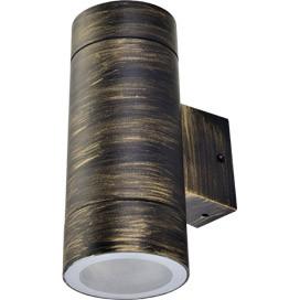 ECOLA Ecola GX53 LED 8013A светильник накладной IP65 прозрачный Цилиндр металл. 2*GX53 Черненая бронза 205 ecola ecola gx53 led 8003a светильник накладной ip65 прозрачный цилиндр металл 1 gx53 белый матовый 114x1