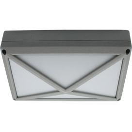 ECOLA Ecola GX53 LED B4157S светильник накладной IP65 матовый Прямоугольник/Пирамида алюмин. 2*GX53 Серый цена