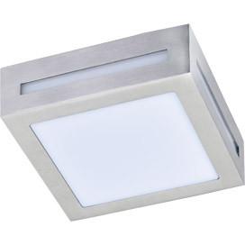 ECOLA Ecola GX53 LED 3082W светильник накладной IP65 матовый Квадрат металл. 1*GX53 Cатин-хром 136x136x55 ecola ecola gx53 led 8003a светильник накладной ip65 прозрачный цилиндр металл 1 gx53 белый матовый 114x1