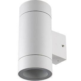 ECOLA Ecola GX53 LED 8013A светильник накладной IP65 прозрачный Цилиндр металл. 2*GX53 Белый матовый 205x1 ecola ecola gx53 led 8003a светильник накладной ip65 прозрачный цилиндр металл 1 gx53 белый матовый 114x1