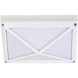 ECOLA Ecola GX53 LED B4157S светильник накладной IP65 матовый Прямоугольник/Пирамида алюмин. 2*GX53 Белый цена