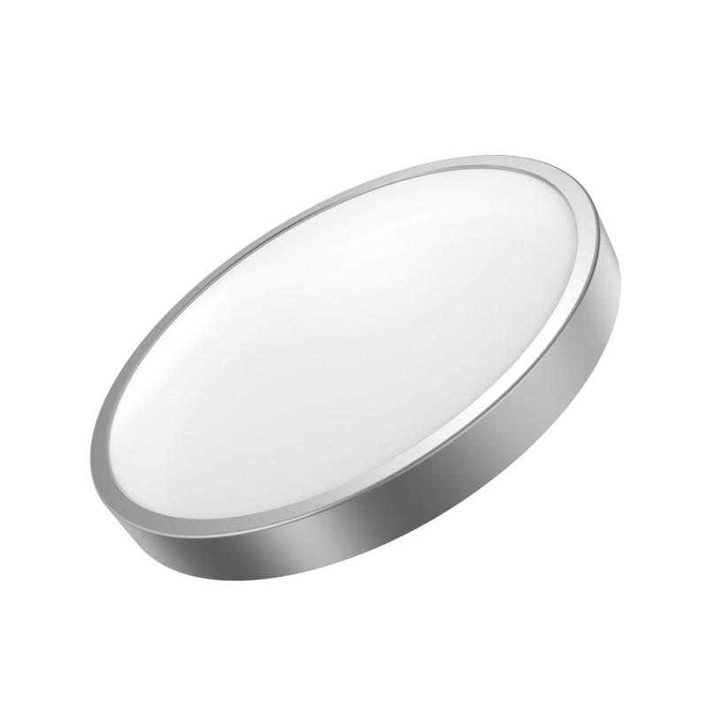 Gauss Светильник светодиодный Gauss LED 18W IP20 2700К круглый серебро 1/5 (кольцо серебро)