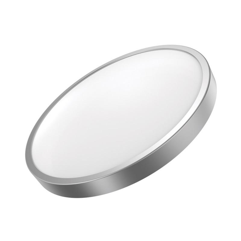 Gauss Светильник светодиодный Gauss LED 24W IP20 4100К круглый серебро 1/5 (кольцо серебро) подвесная люстра odeon light fabo арт 2767 5