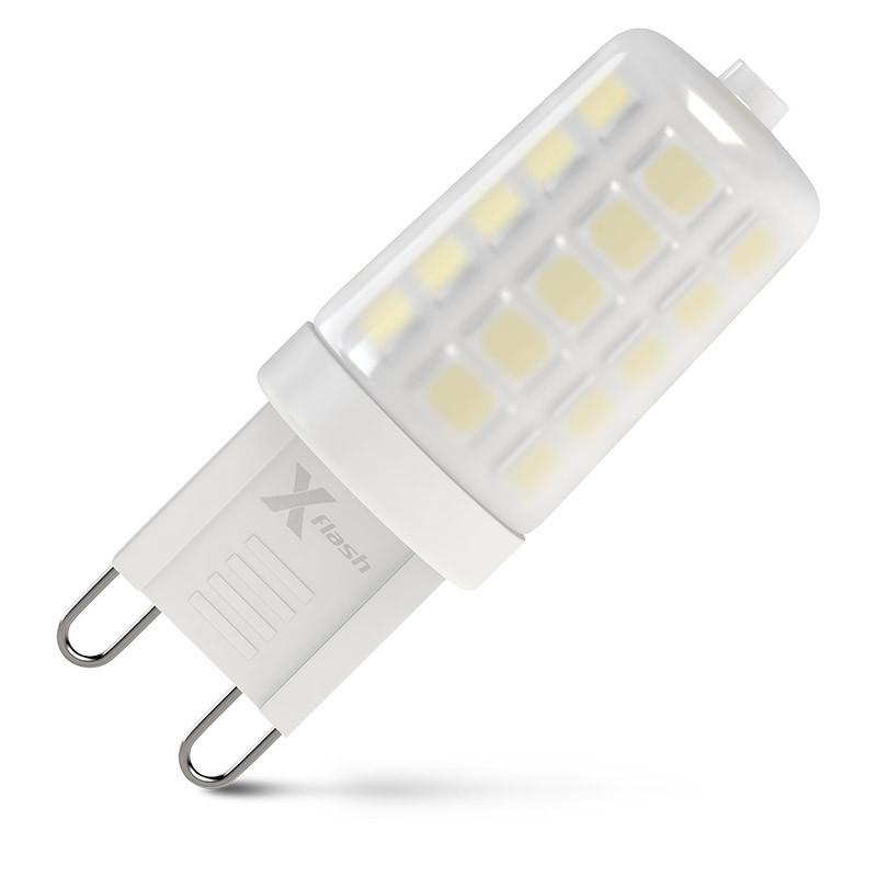 X-Flash Лампа LED X-flash XF-G9-M32-3.3W-4000K-230V (арт.47925) лампа x flash xf g9 44 c 3w 4000k 230v капсула g9 4000к 310лм x6