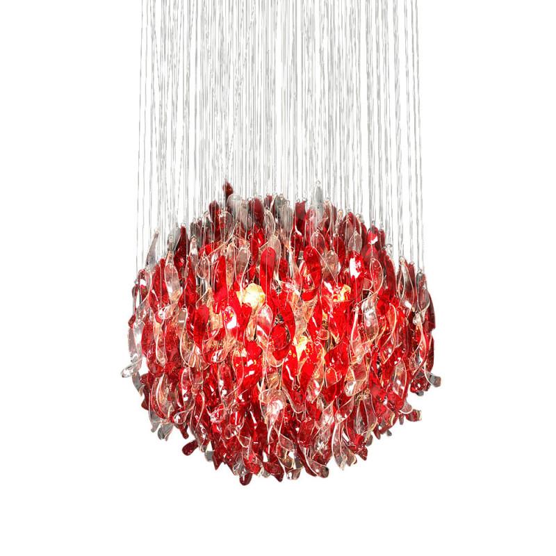 DeLight Collection Подвесной светильник Aura Red подвесной светильник leds c4 aura 00 1942 bw m3