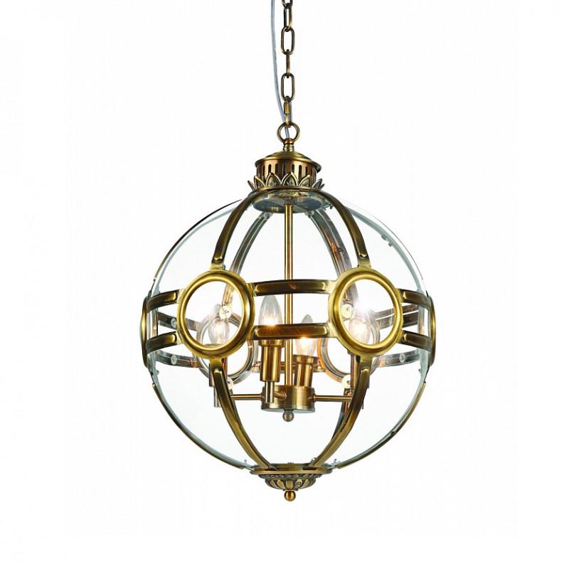 Фото DeLight Collection Подвесной светильник Hagerty A.Brass 4. Купить с доставкой