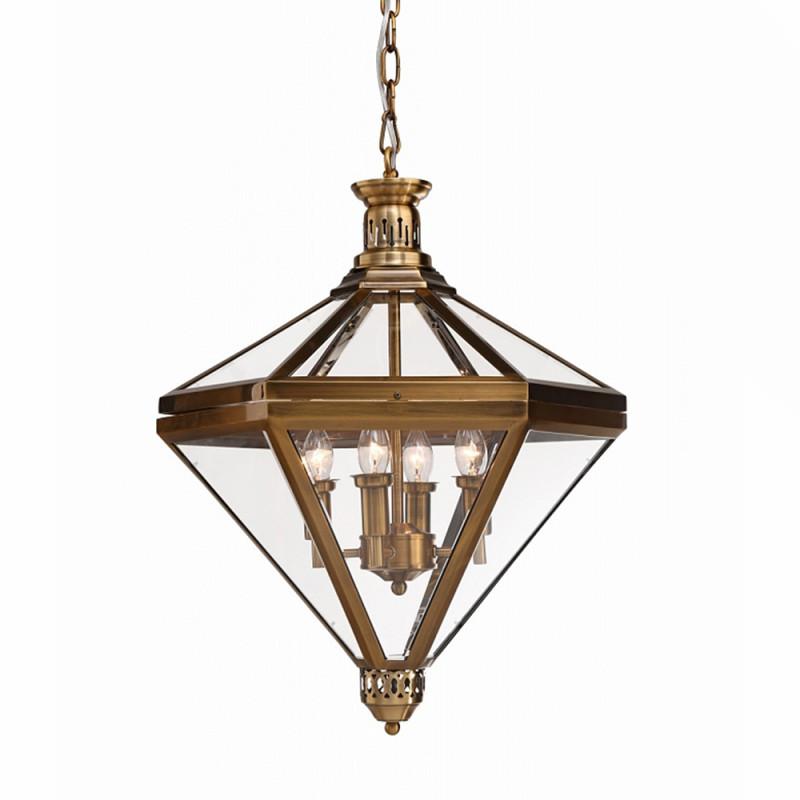 Фото DeLight Collection Подвесной светильник Mistery A.Brass 4. Купить с доставкой