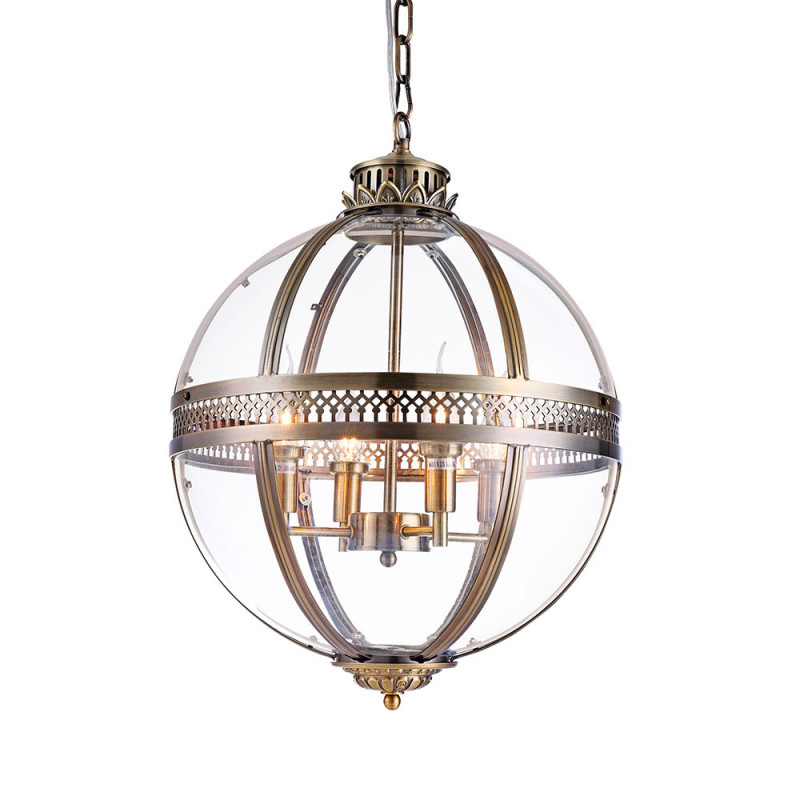 DeLight Collection Подвесной светильник Residential Brass 3