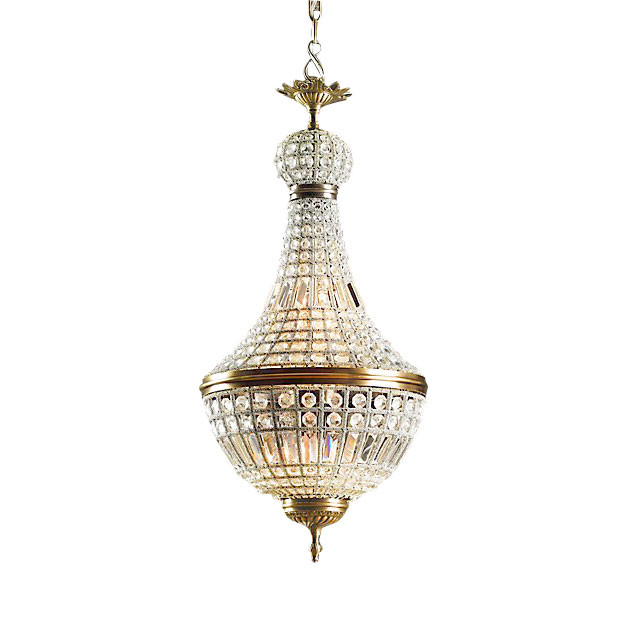 DeLight Collection Подвесной светильник French Empire A. Brass 5 духи french collection туалетная вода french collection versailes 15 мл