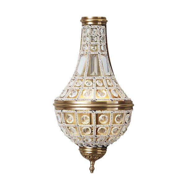 DeLight Collection Настенный светильник French Empire A.Brass 2 духи french collection туалетная вода french collection versailes 15 мл