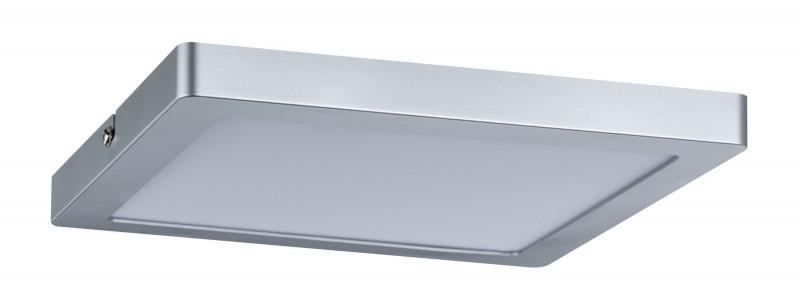 Paulmann W-D Atria LED-Panel 220x220mm 18W Chr-m paulmann w d ixa ip44 max 18w e27 310mm ei geb ws