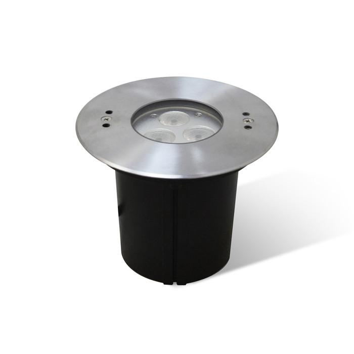 Maysun Встраиваемый светодиодный светильник B4X0302-1x9W-WW-30-24V-IP68 встраиваемый светильник maysun th 100 5w silver теплый белый