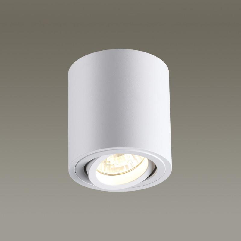 Odeon Light 3567/1C ODL18 117 белый Потолочный накладной светильник IP20 GU10 50W 220V TUBORINO ноутбук dell inspiron 3567 3567 1144 3567 1144
