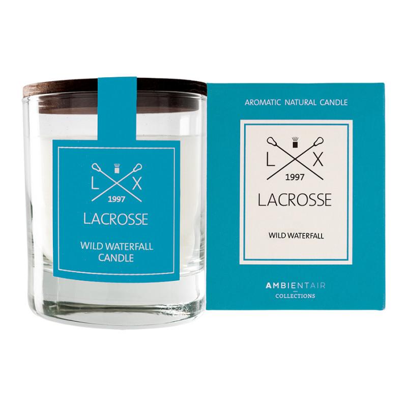 Ambientair Ароматическая свеча в стекле «Дикий водопад» lacrosse круглая