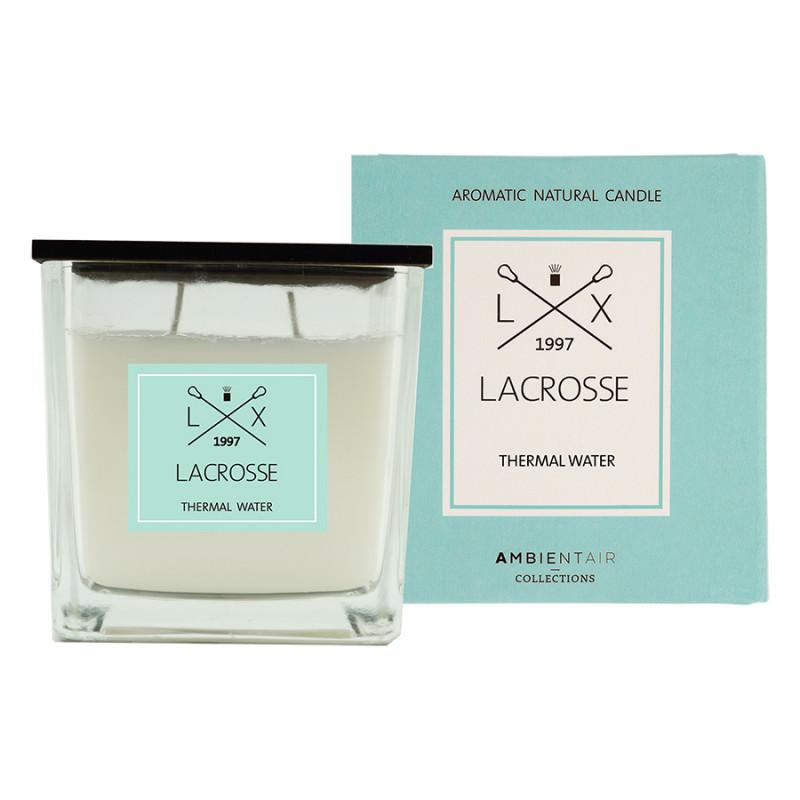 Ambientair Ароматическая свеча в стекле «Термальный источник» lacrosse 10х10 см